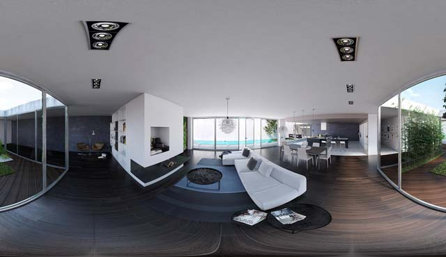 Private House in Lugano - Internal 360° View